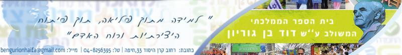 בית ספר דוד בן גוריון