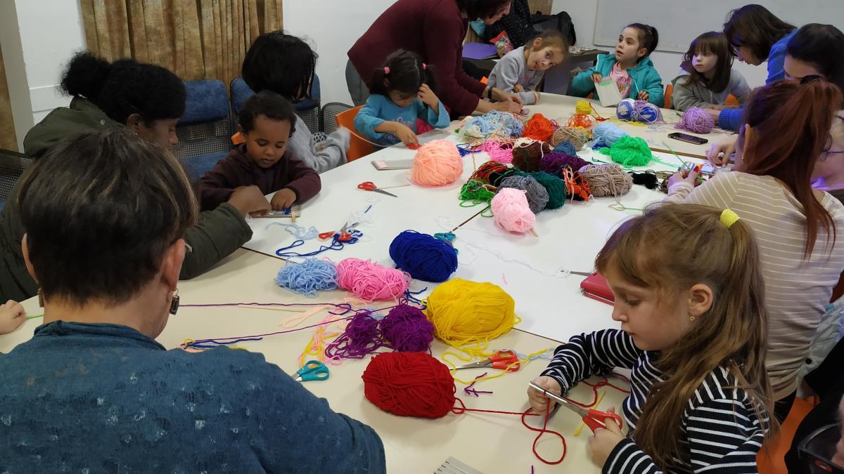 """יצירה מהלב - עם לליב - ילדים והורים תשפ""""א"""